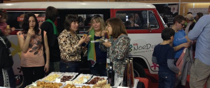 Try Nordest'in na Feira Ibérica de Turismo (FIT), na Guarda