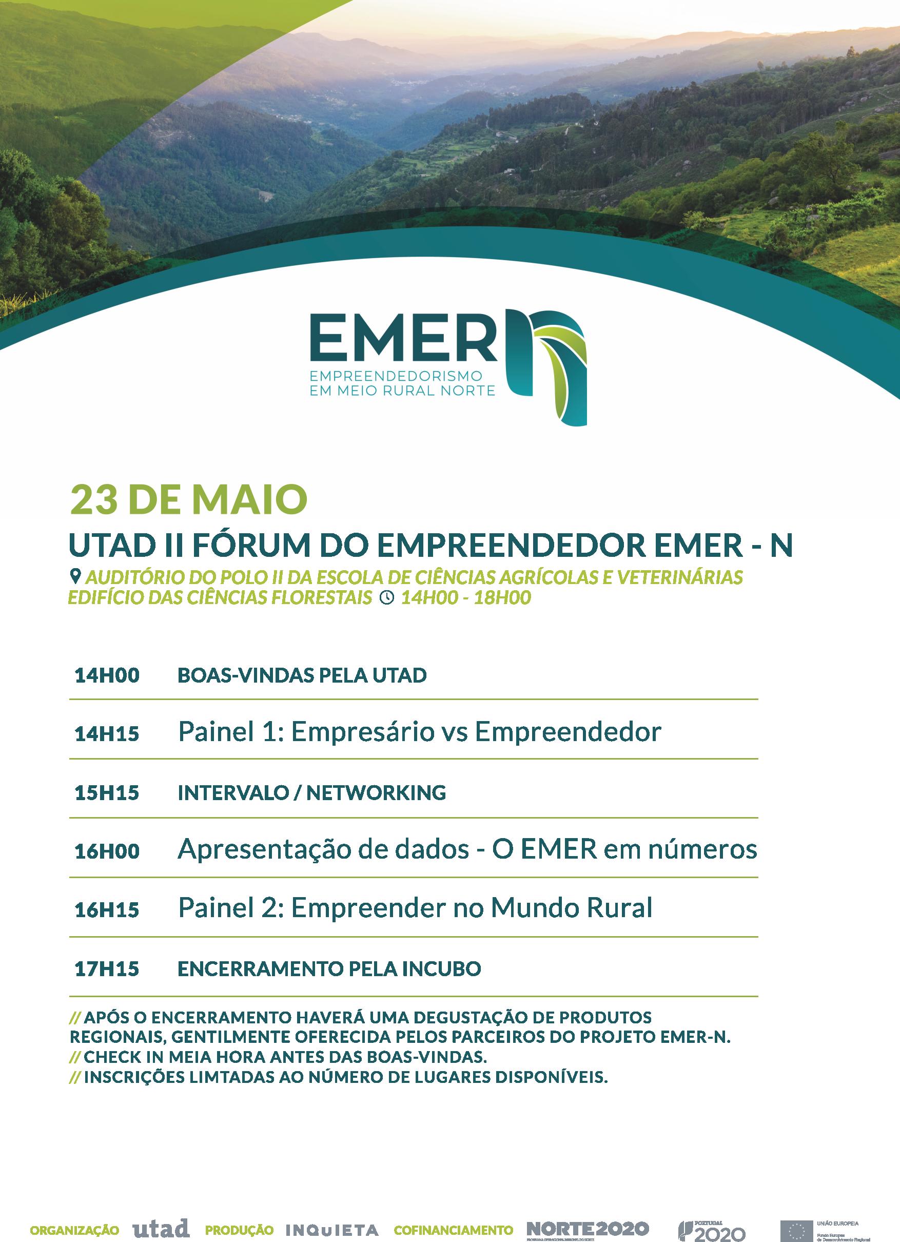 Convite II FÓRUM do EMPREENDEDOR EMER-N