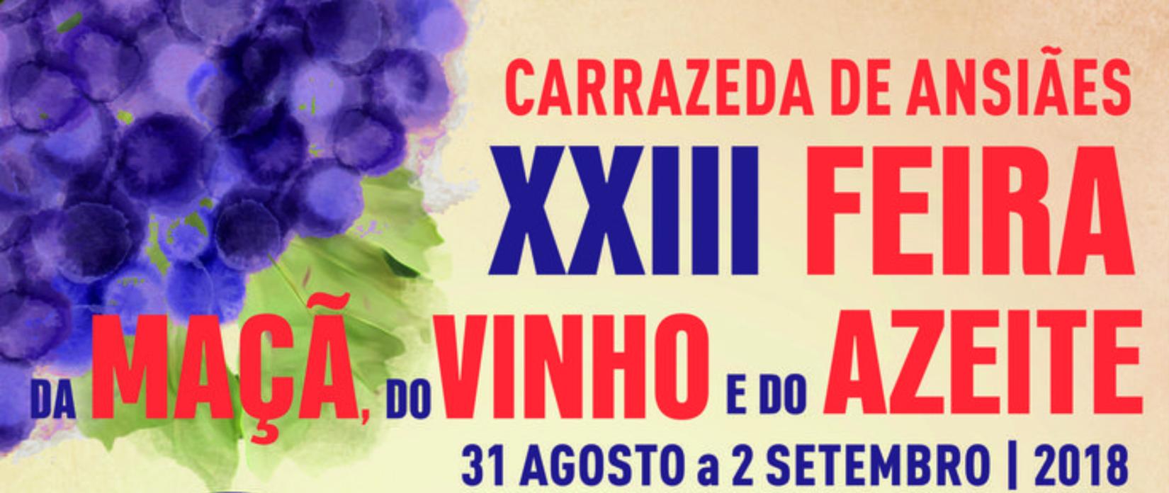 XXIII Feira da Maçã do Vinho e do Azeite – Carrazeda de Ansiães