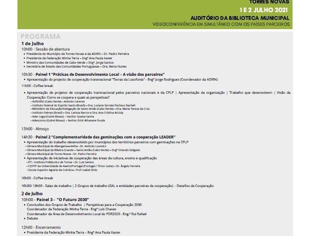 Programa - Encontro Lusofonia
